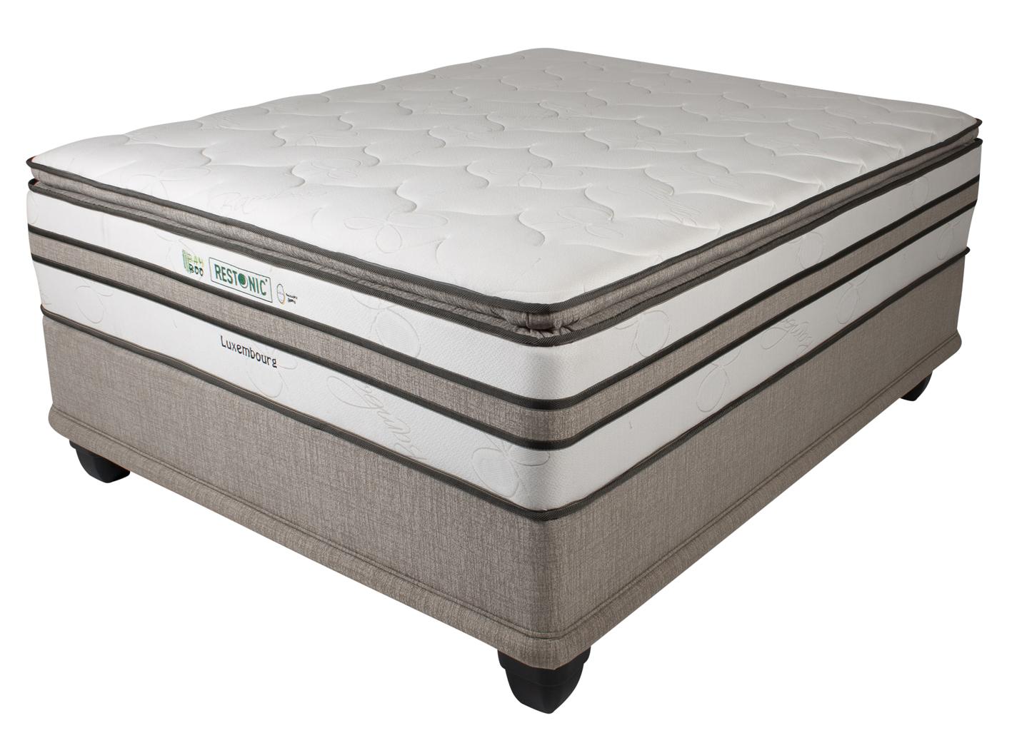 RESTONIC Luxemburg Queen Bed Image